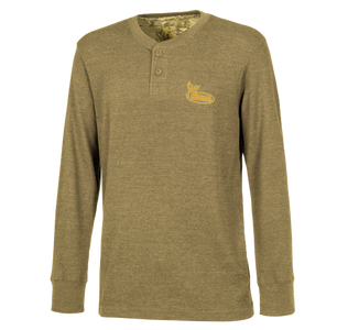 Wheat Henley Shirt