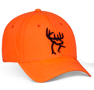 Orange A-Flex Fitted Hat