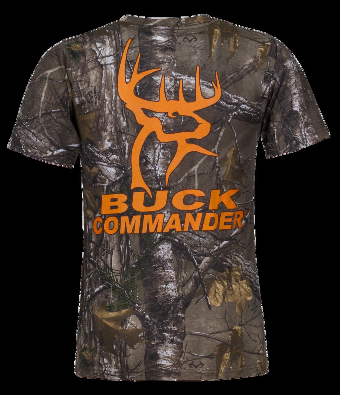 Camo buck commander logo