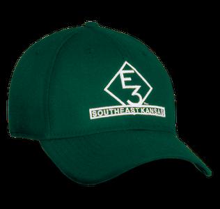 E3 Southeast Kansas New Era Green Hat