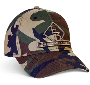 E3 Southeast Kansas New Era Camo Hat