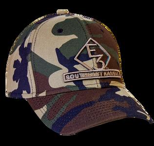 E3 Southeast Kansas New Era Camo Hat