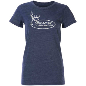Women's Weathered Navy T-Shirt