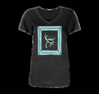 Women's Frame V-Neck T-Shirt