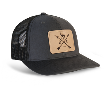 Buck Commander Leather Arrow Patch Richardson Hat