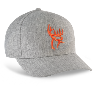 Buck Commander Heather Grey Wool Hat