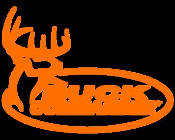 Orange Buck Commander Decal