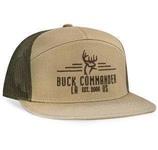 Buck Commander 7 Panel Richardson Hat
