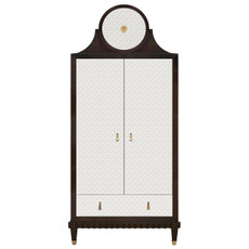 New Yorker Armoire with Crown
