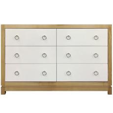 Tempo Dresser 6 Drawer - Natural Ash