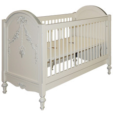 Princess Crib w/Applique