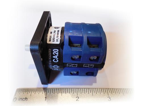 Switch 3 phase motor start ca20 for 3 phase motor starter switch