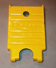 High flip-up Adapter for Rotary Lifts. SKU: FJ671-1.