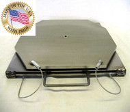 Stainless Steel Turn-plate without Pointer. Made in the USA