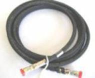 HOSE, Hydraulic, RL, short hose, large fitting.137-72