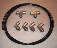 Tire Changer Parts. Banjo Fitting replacement kit; stainless steel.