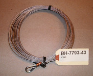 Auto Lift Parts. 1-2058 Lock release Cable.