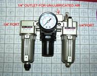 Photo of part TCATU-2000M-LR Combination Air Treatment Unit for Tire Changers.
