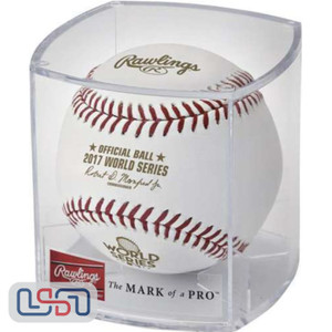 2017 World Series Rawlings Official MLB Game Baseball - Cubed