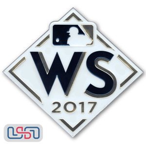 Official 2017 World Series MLB Sleeve Jersey Logo Patch