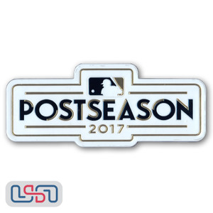 Official 2017 Postseason MLB Sleeve Jersey Logo Patch