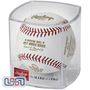 2017 World Series Champions Rawlings Official MLB Baseball Houston Astros - Cubed
