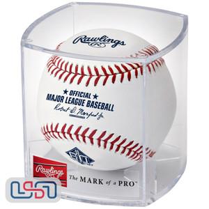 2018 San Francisco Giants 60th Anniversary Rawlings Official MLB Game Baseball - Cubed