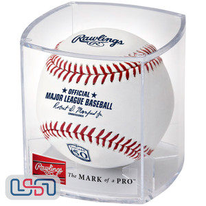 2018 Oakland Athletics 50th Anniversary Rawlings Official MLB Game Baseball - Cubed