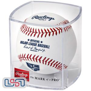 2018 Tampa Bay Rays 20th Anniversary Rawlings Official MLB Game Baseball - Cubed