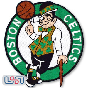 Boston Celtics NBA Official Licensed Primary Team Logo Iron Sewn On Patch