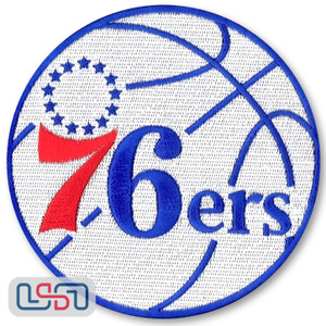 Philadelphia 76ers NBA Official Licensed Primary Team Logo Iron Sewn On Patch