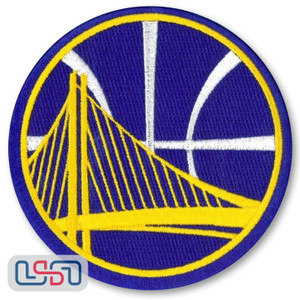 Golden State Warriors NBA Official Licensed Alternate Team Logo Iron Sewn Patch