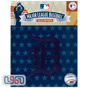 Detroit Tigers MLB Official Licensed Primary Logo Jersey Sleeve Patch (Navy)