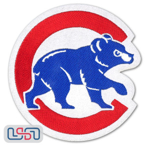 Chicago Cubs MLB Official Licensed Walking Bear Jersey Sleeve Patch