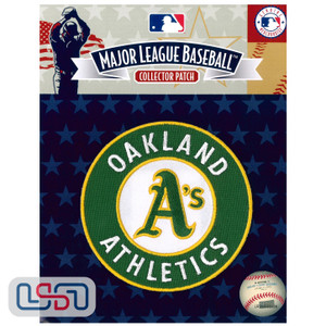 Oakland Athletics MLB Official Licensed Primary Logo Sleeve Patch
