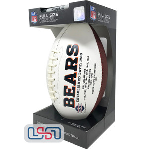 Chicago Bears Signature Series Football - Full Size