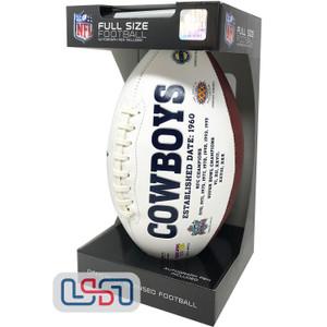 Dallas Cowboys Signature Series Football - Full Size