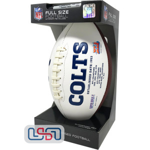 Indianapolis Colts Signature Series Football - Full Size