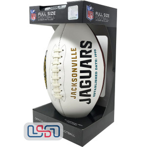 Jacksonville Jaguars Signature Series Football - Full Size