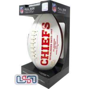Kansas City Chiefs Signature Series Football - Full Size