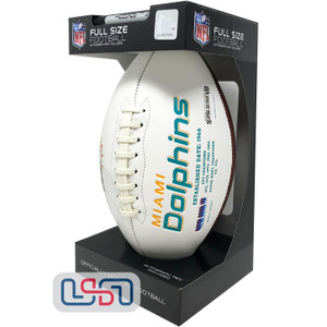 Miami Dolphins Signature Series Football - Full Size
