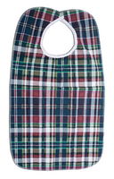 Bib (Plaid w/Velcro Closure)