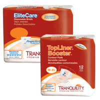 Tranquility®  EliteCare®  Max Absorbency Incontinence Bundle