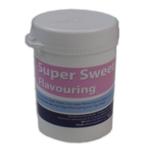 Super sweet flavouring for addition to horse supplements.