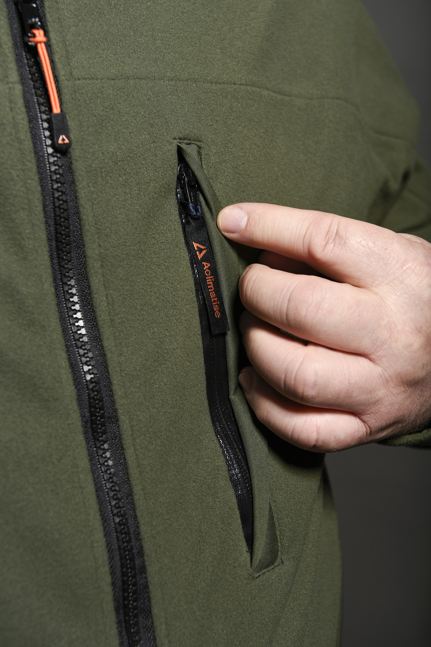 Detail of front pocket