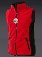 Ladies Windproof Bodywarmer Red