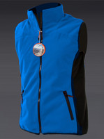 Ladies Windproof Bodywarmer Blue