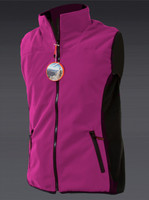 Ladies Windproof Bodywarmer Pink