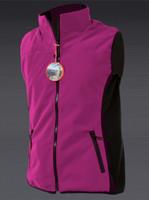 Ladies Windproof Bodywarmer Pink