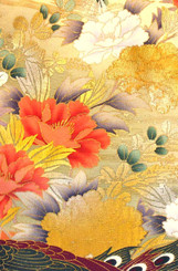 Handbags- Vintage Japanese Silk Kimono Print Fabrics: Vintage Silk Japanese Kimono Handbag FH014E